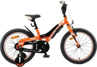 Детский велосипед Stels Pilot 180 18 V010 (оранжевый/черный, 2019)