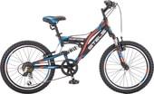 Детский велосипед Stels Mustang V 20 V010 (черный, 2019)