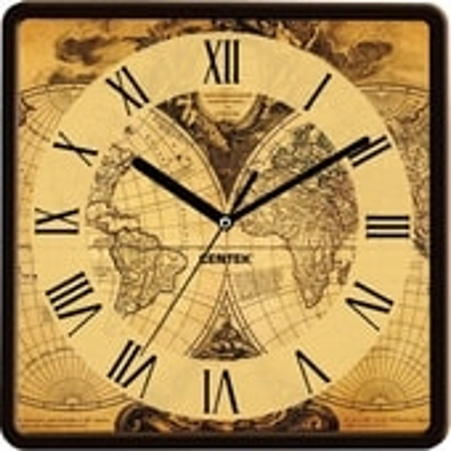 Настенные часы CENTEK CT-7103 Map