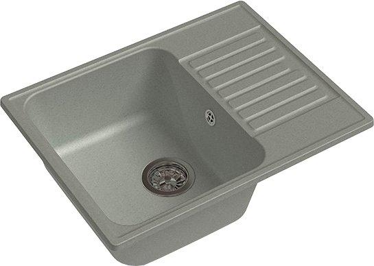Кухонная мойка GranFest QUARZ Z-13 (серый)
