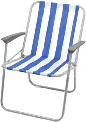 Кресло Nika складное КС4 (зеленый/белый)