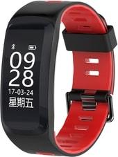 Фитнес-браслет NO.1 F4 (черный/красный)
