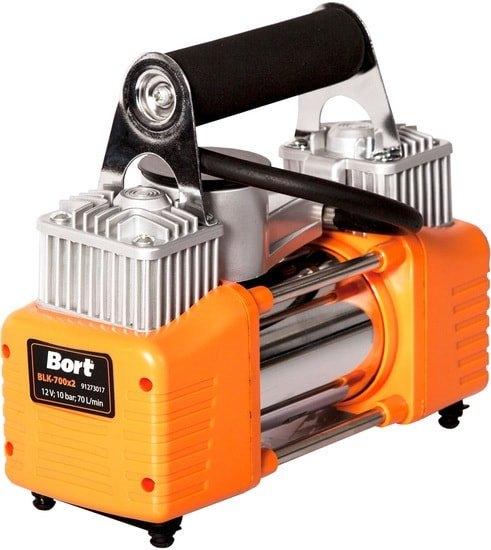 Автомобильный компрессор Bort BLK-700×2