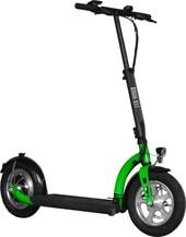 Электросамокат Kugoo ES3 (черный/зеленый)