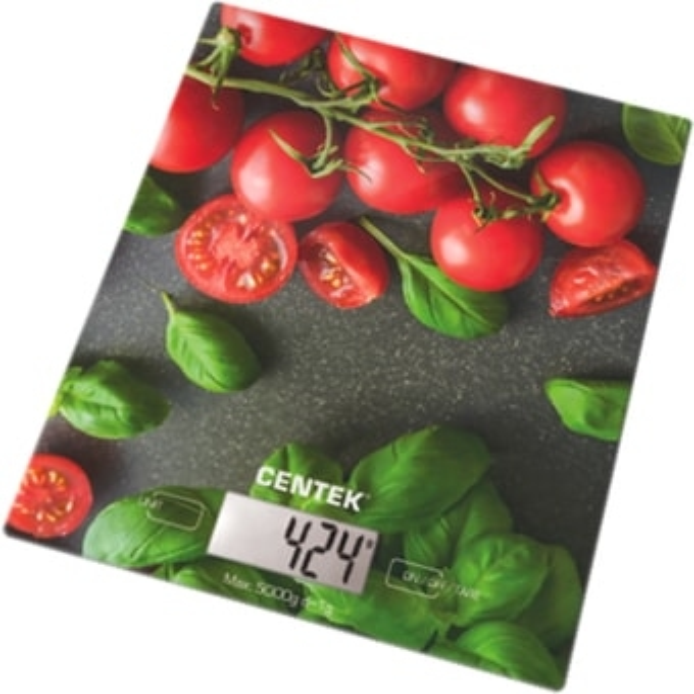 Кухонные весы CENTEK CT-2462 (черри)