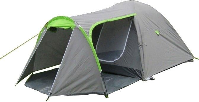 Треккинговая палатка Acamper Monsun 4 (серый)