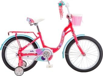 Детский велосипед Stels Jolly 18 V010 (красный/голубой, 2019)