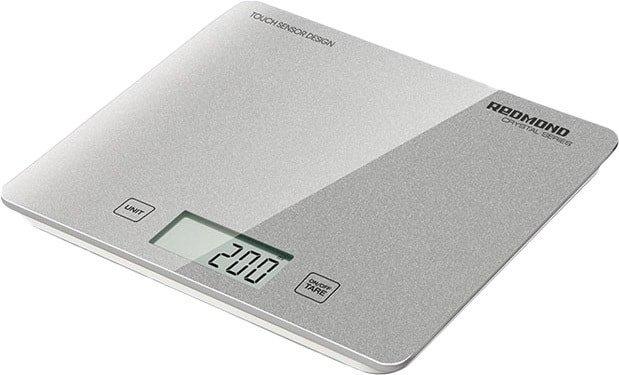 Кухонные весы Redmond RS-724-E (серебристый)