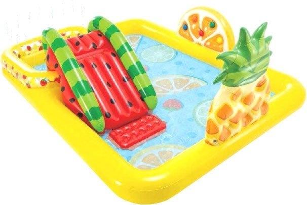 Надувной бассейн Intex Веселые фрукты 57158 (244×191)