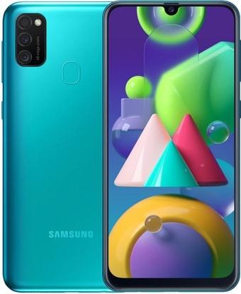 Смартфон Samsung Galaxy M21 SM-M215F/DS 4GB/64GB (бирюзовый)