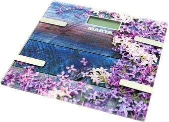 Напольные весы Marta MT-1682 (весенние цветы)