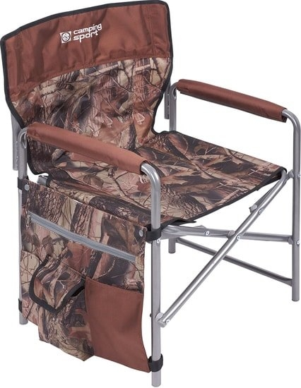 Кресло Nika складное КС1 (хант/коричневый)