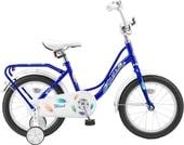Детский велосипед Stels Wind 16 Z010 (синий, 2018)