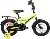Детский велосипед Детский велосипед AIST Stitch 14 (желтый/черный, 2019)