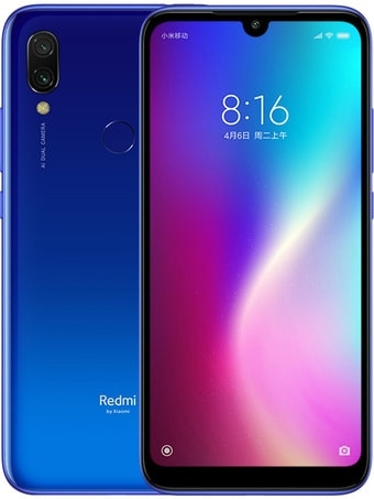 Смартфон Xiaomi Redmi 7 4GB/64GB китайская версия (синий)