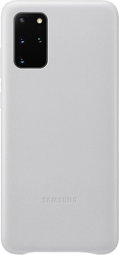 Чехол Samsung Leather Cover для Samsung Galaxy S20+ (светло-серый)