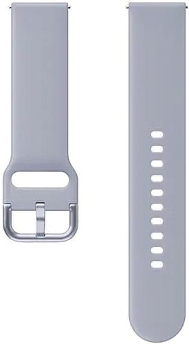 Ремешок Samsung спортивный для Galaxy Watch Active2/Watch 42mm (серебр.-серый)