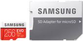 Карта памяти Samsung EVO Plus microSDXC UHS-I, U3 + адаптер 256GB
