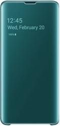 Чехол Чехол Samsung Clear View Cover для Samsung Galaxy S10 (зеленый)