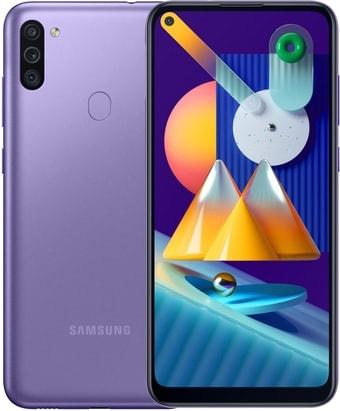 Смартфон Samsung Galaxy M11 SM-M115F/DS 3GB/32GB (фиолетовый)
