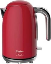 Электрочайник Tesler KT-1755 (красный)