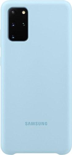 Чехол Samsung Silicone Cover для Galaxy S20+ (голубой)