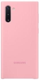 Чехол Samsung Silicone Cover для Samsung Galaxy Note 10 (розовый)