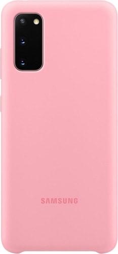 Чехол Samsung Silicone Cover для Galaxy S20 (розовый)