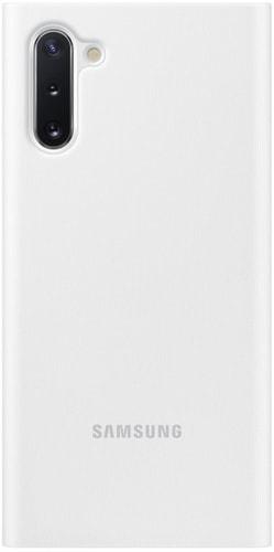 Чехол Samsung Clear View Cover для Samsung Galaxy Note10 (белый)