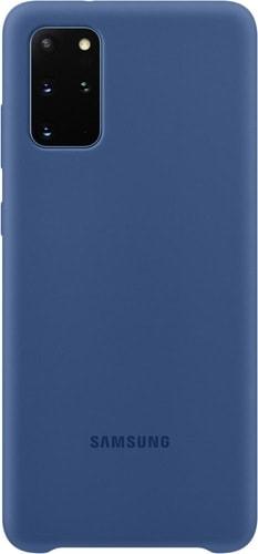 Чехол Чехол Samsung Silicone Cover для Galaxy S20+ (темно-синий)