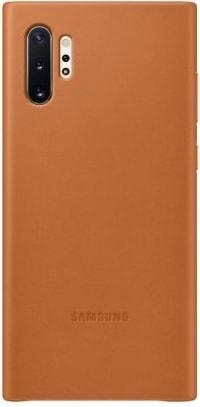 Чехол Samsung Leather Cover для Galaxy Note10 Plus (песочно-бежевый)