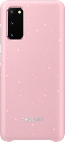 Чехол Samsung Smart LED Cover для Samsung Galaxy S20 (розовый)