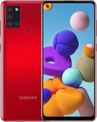 Смартфон Samsung Galaxy A21s SM-A217F/DSN 3GB/32GB (красный)