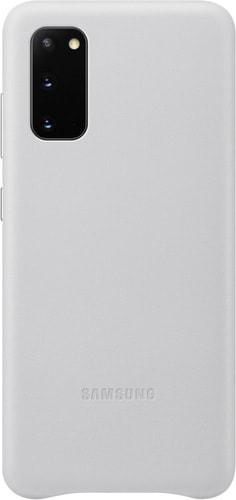 Чехол Samsung Leather Cover для Samsung Galaxy S20 (светло-серый)