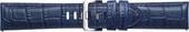 Ремешок Samsung Alligator Pattern для Galaxy Watch 46mm & Gear S3 (синий)
