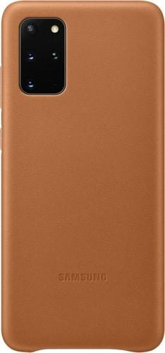 Чехол Samsung Leather Cover для Samsung Galaxy S20+ (коричневый)