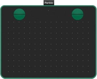 Графический планшет Parblo A640 (черный/зеленый)