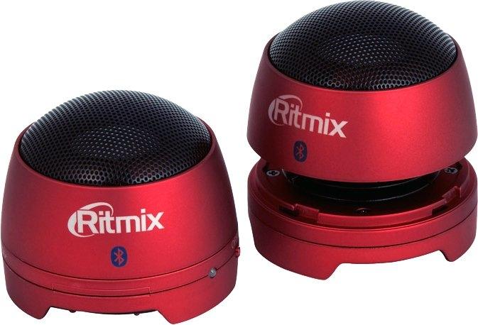 Акустика Ritmix SP-2013BT (красный)