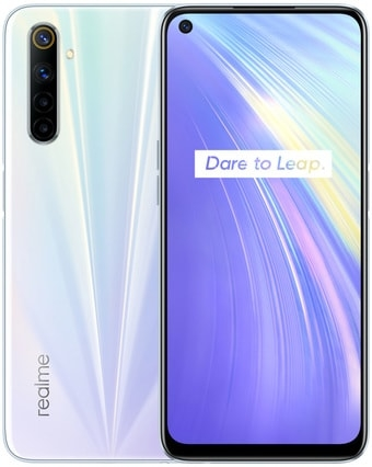 Смартфон Realme 6 8GB/128GB международная версия (белый)