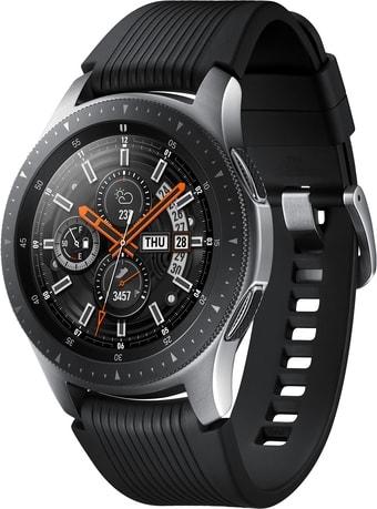 Умные часы Samsung Galaxy Watch 46мм LTE (серебристая сталь)
