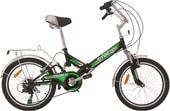 Детский велосипед Stream Track 20 (черный/зеленый)