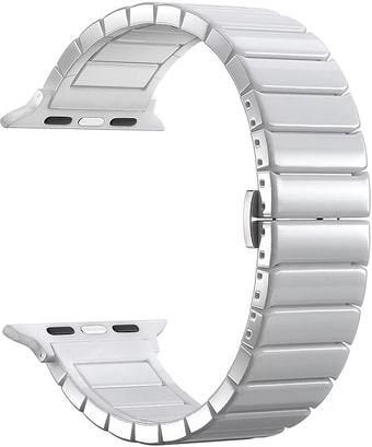 Ремешок Lyambda Libertas для Apple Watch 38-40 мм (белый)