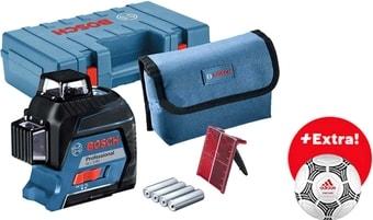 Лазерный нивелир Bosch GLL 3-80 Professional 06159940LM (с кейсом, футбольный мяч)