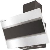 Кухонная вытяжка MAUNFELD Bridge 50 (нержавеющая сталь/черное стекло)