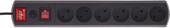 Сетевой фильтр Most R 2 м (черный)