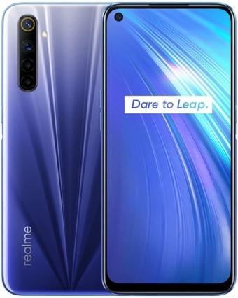 Смартфон Realme 6 4GB/128GB международная версия (синий)