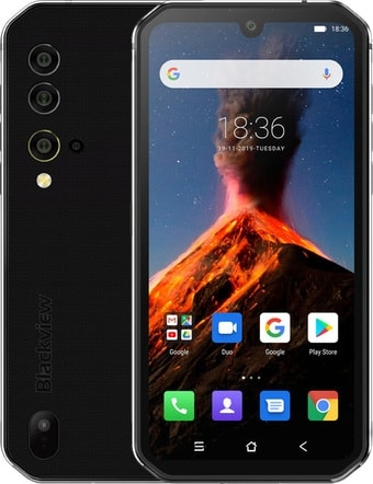 Смартфон Blackview BV9900 (серебристый)