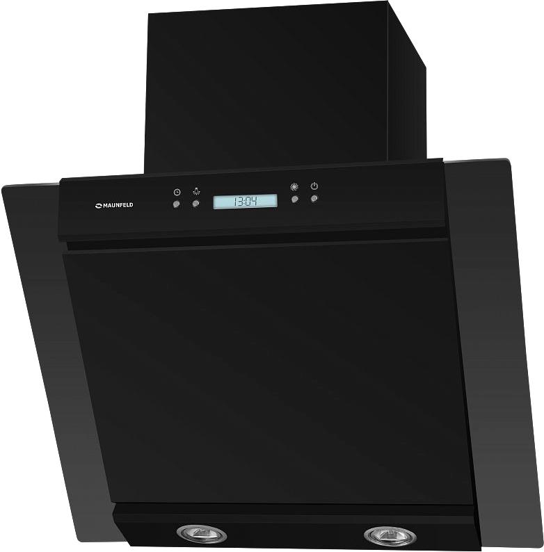 Кухонная вытяжка MAUNFELD Gloria 60 (черный/черное стекло)