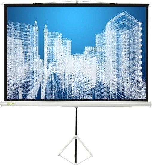 Проекционный экран CACTUS Triscreen CS-PST-150×150