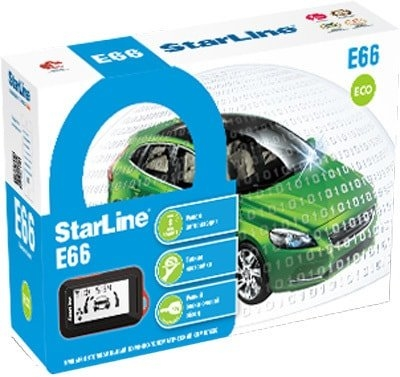 Автосигнализация StarLine E66 BT ECO